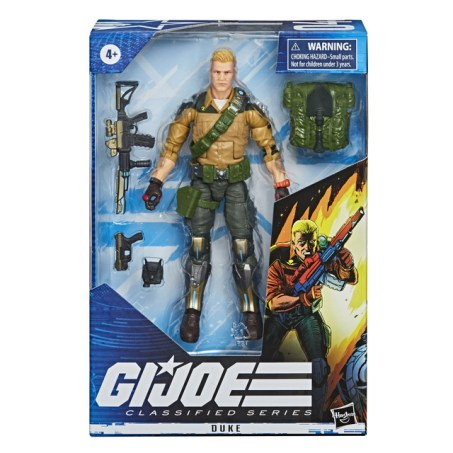 E8494 - GI JOE Classified Series Duke Figure - IP