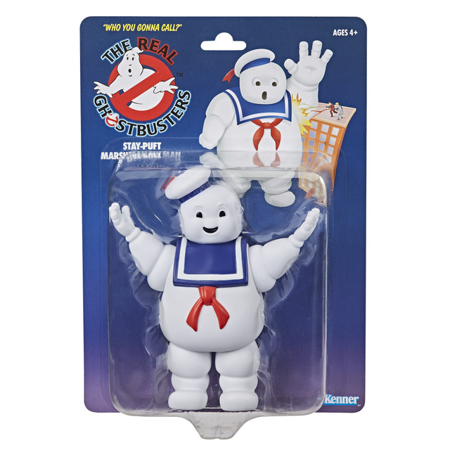 hasbro kenner classic staypuft marshmellow man packaging