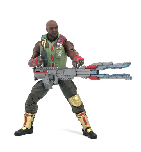 G.I. Joe Classified Series - Roadblock with heavy machine gun
