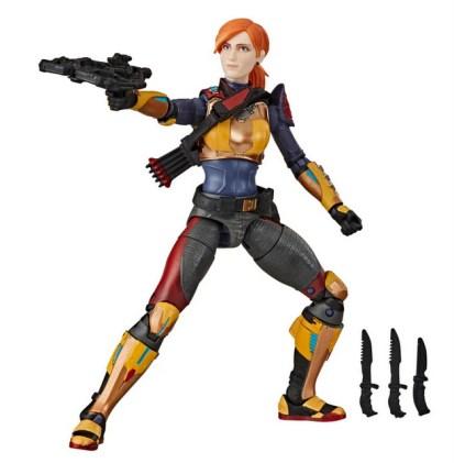 G.I. Joe Classified Series Scarlett aiming crossbow