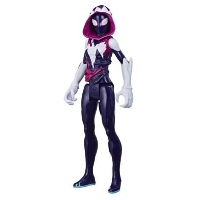 SPIDER-MAN MAXIMUM VENOM TITAN HERO GHOST-SPIDER Figure - oop