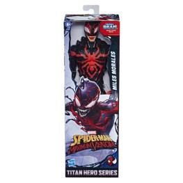 SPIDER-MAN MAXIMUM VENOM TITAN HERO MILES MORALES Figure - in pck