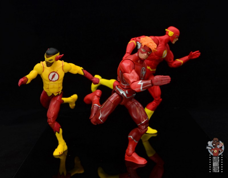 dc multiverse wally west figure review - running with the flashes