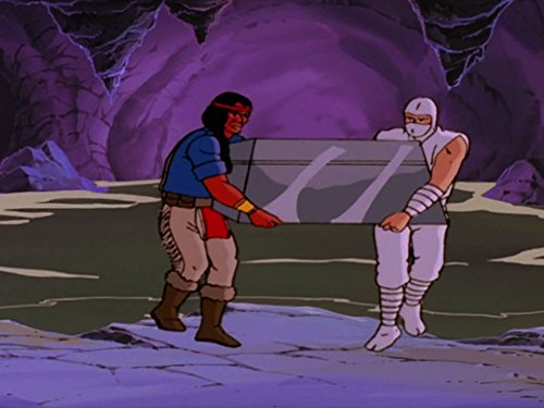 gi joe the revenge of cobra - spirit and storm shadow