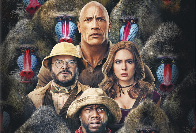 jumanji the next level - 4k cover