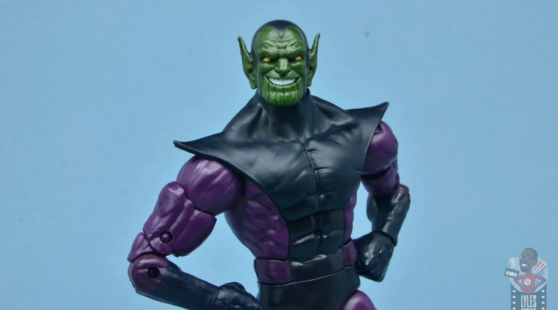 marvel legends build-a-figure super skrull figure review - main pic