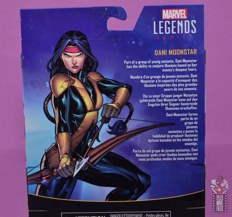marvel legends dani moonstar figure review - bio