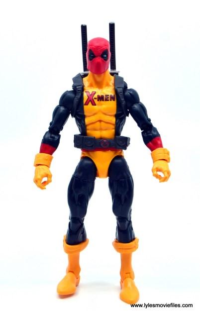 marvel legends deadpool figure review - front
