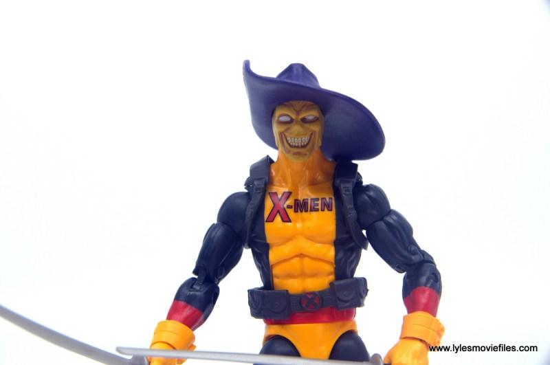 marvel legends deadpool figure review - madcap head