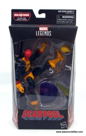 marvel legends deadpool figure review - package front