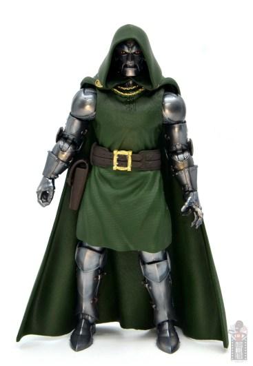 marvel legends doctor doom figure review - front