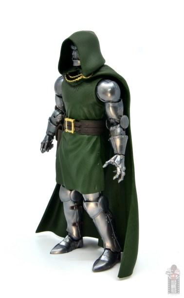marvel legends doctor doom figure review - left side