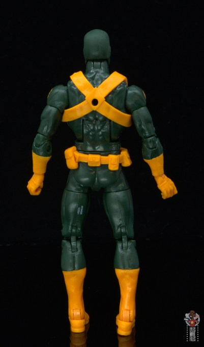 marvel legends hydra soldier figure review - rear