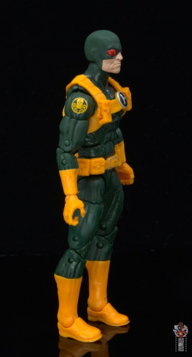 marvel legends hydra soldier figure review - right side