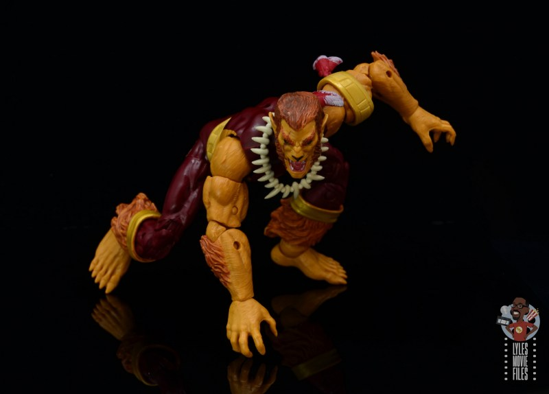 marvel legends puma figure review -about to pounce