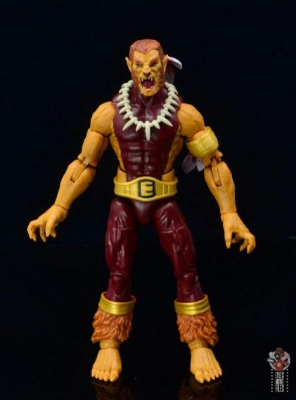 marvel legends puma figure review - front