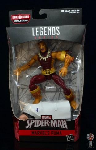 marvel legends puma figure review -package front