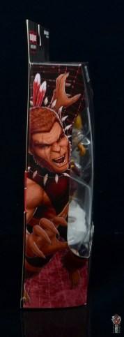 marvel legends puma figure review - package side