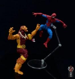 marvel legends puma figure review - vs spider-man