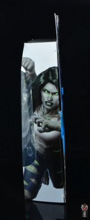 marvel legends she-hulk figure review - package side