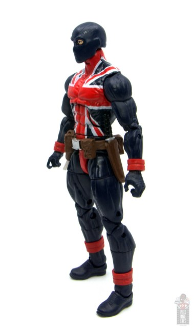 marvel legends union jack figure review - left 2