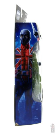 marvel legends union jack figure review -package side