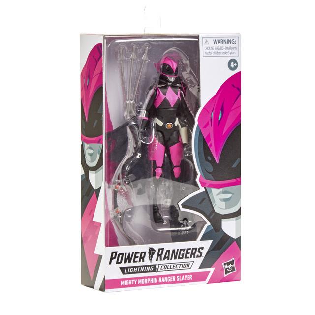 power rangers lightning collection ranger slayer - package side