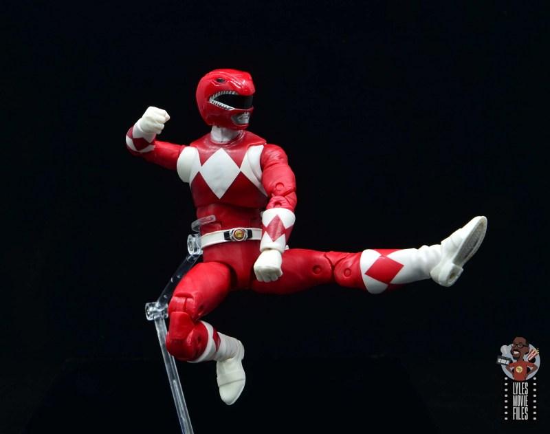 power rangers lightning collection red ranger figure review - jump kick