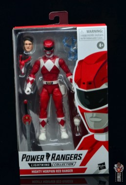 power rangers lightning collection red ranger figure review - package front