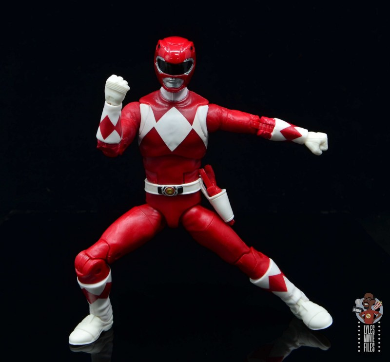 power rangers lightning collection red ranger figure review - split
