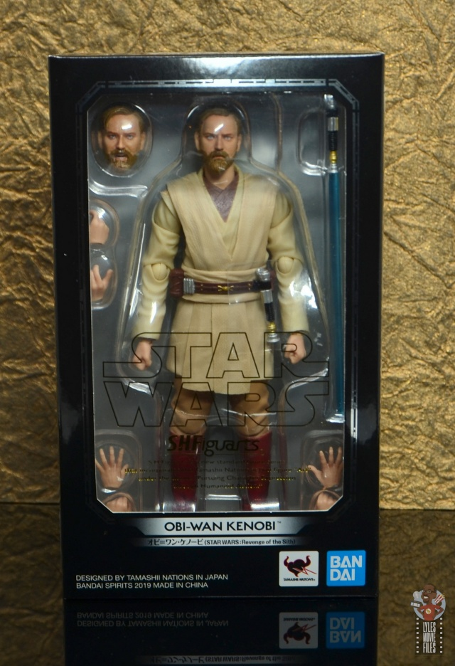 Bandai S.H.Figuarts Star Wars Obi-Wan Kenobi Japan version Revenge of the Sith