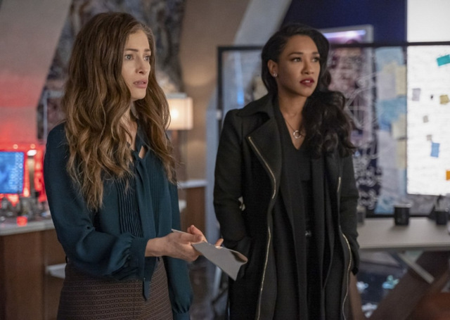 the flash - a girl named sue review - eva and iris on the case