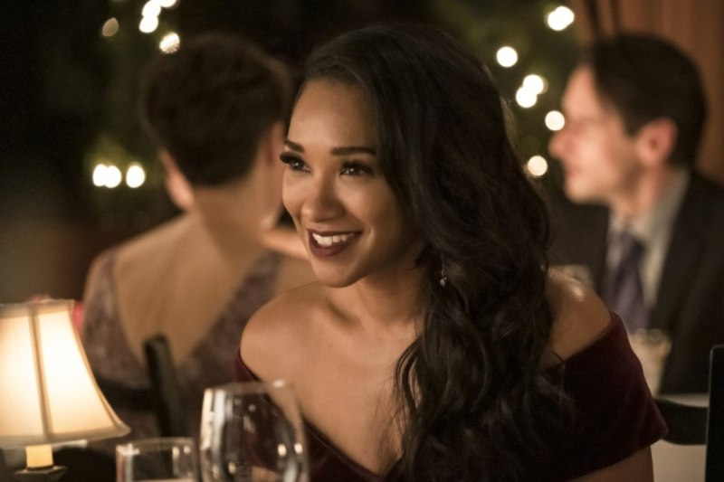 the flash - love is a battlefield review - iris