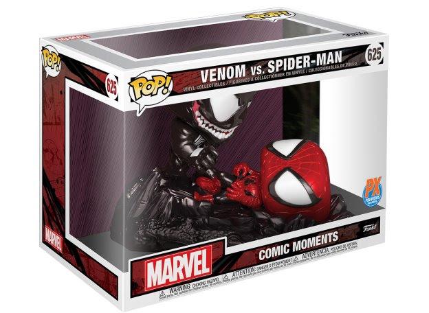 funko pop venom vs spider-man packaging