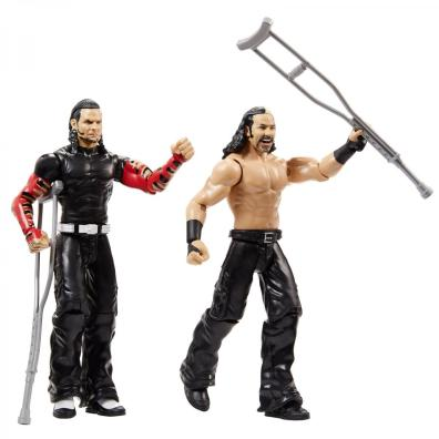 wwe battle pack series 65 - the hardy boyz with accessories