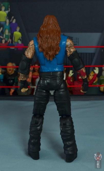 wwe elite 68 american badass undertaker figure review - rear