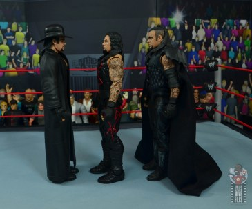 wwe hall of champions undertaker figure review - facing undertaker and ministry of darkness undertaker