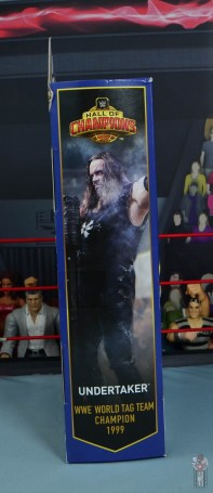 wwe hall of champions undertaker figure review -package side