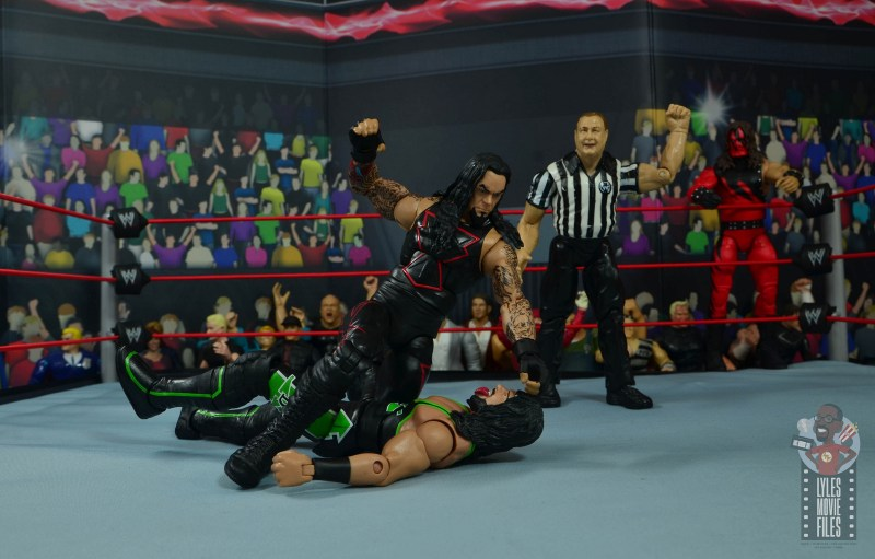 wwe hall of champions undertaker figure review - punching x-pac down