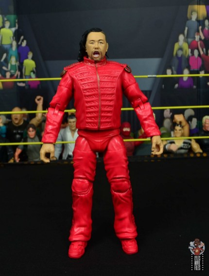 wwe ultimate edition shinsuke nakamura figure review - front