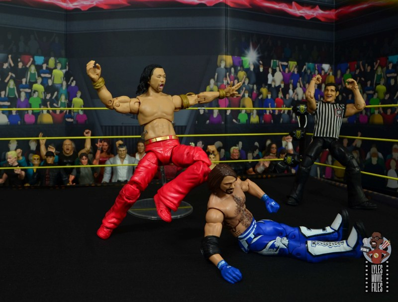 wwe ultimate edition shinsuke nakamura figure review -kinshasha to aj styles