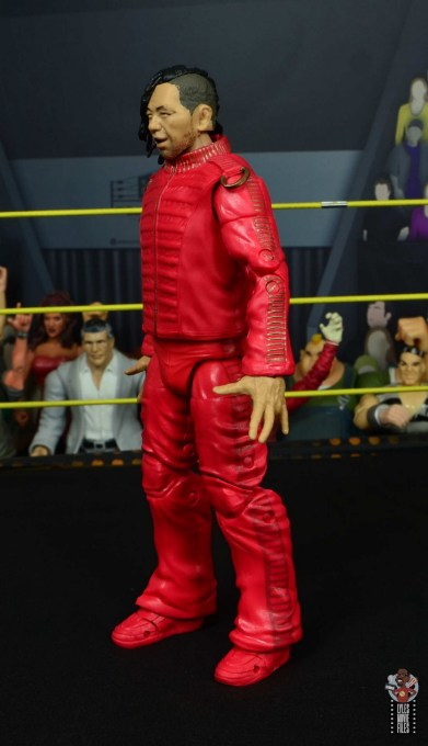 wwe ultimate edition shinsuke nakamura figure review - left side