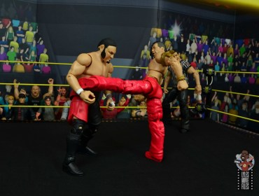 wwe ultimate edition shinsuke nakamura figure review - side kick to samoa joe