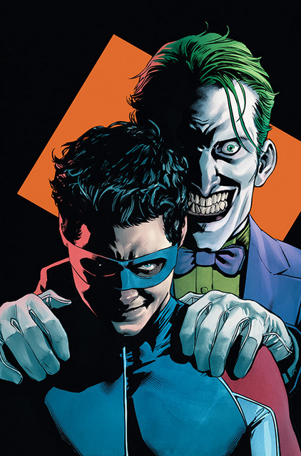 NIGHTWING #73 COVER COLOR CMYK