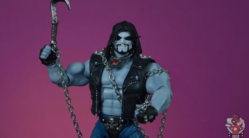 dc multiverse lobo figure review - main pic