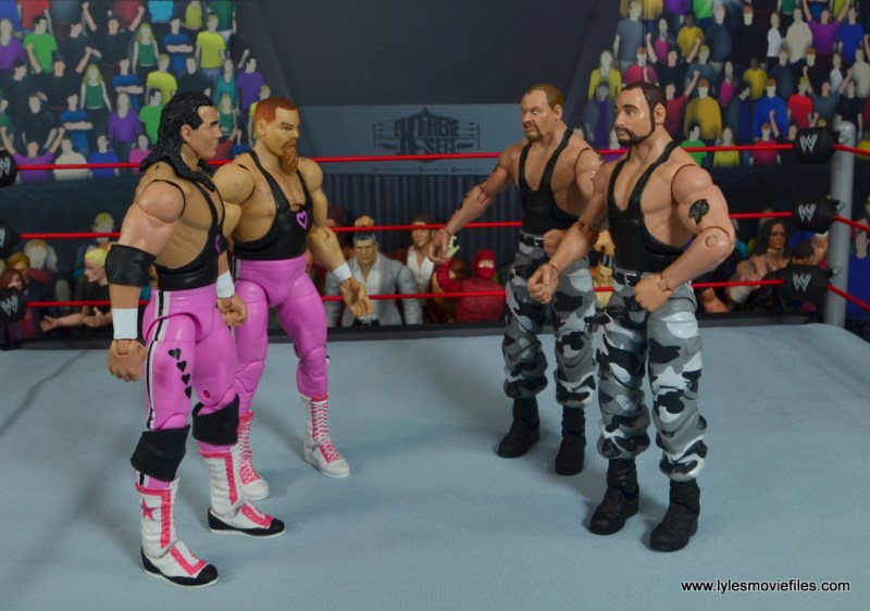 march bashness 2020 - 2nd round - hart foundation vs sheepherders
