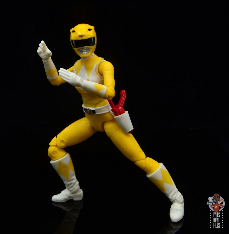 power rangers lightning collection mighy morphin yellow ranger figure review - ready for battle