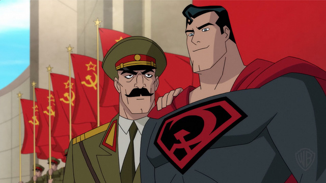 superman red son review Stalin-Superman