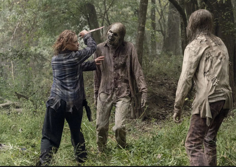 the walking dead walk with us review - mary