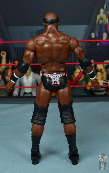 wwe elite 69 bobby lashley figure review - rear